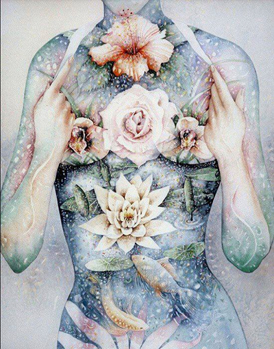 visionary art by Meganne Forbes